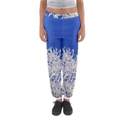 Crown Aesthetic Branches Hoarfrost Women s Jogger Sweatpants