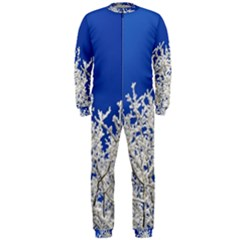 Crown Aesthetic Branches Hoarfrost Onepiece Jumpsuit (men)