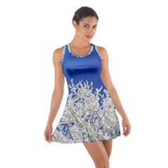 Crown Aesthetic Branches Hoarfrost Cotton Racerback Dress