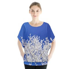 Crown Aesthetic Branches Hoarfrost Blouse