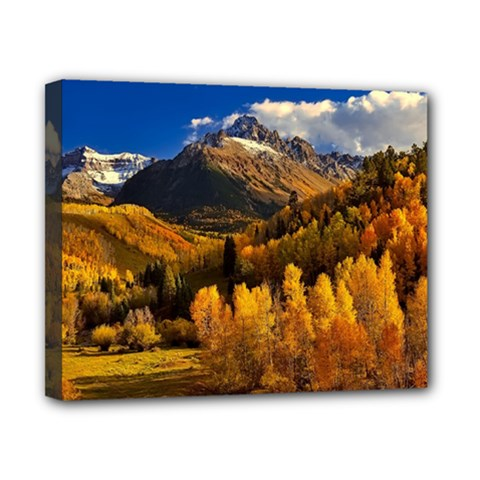 Colorado Fall Autumn Colorful Canvas 10  X 8