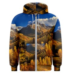 Colorado Fall Autumn Colorful Men s Zipper Hoodie