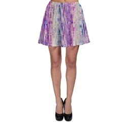 Splashes Pattern Skater Skirt