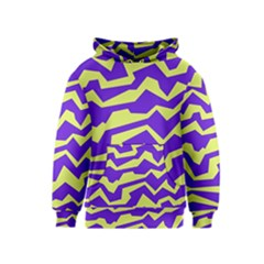 Polynoise Vibrant Royal Kids  Pullover Hoodie