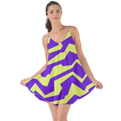 Polynoise Vibrant Royal Love The Sun Cover Up