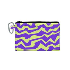 Polynoise Vibrant Royal Canvas Cosmetic Bag (small)