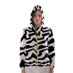 Polynoise Tiger Hooded Wind Breaker (women)