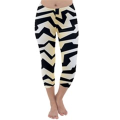 Polynoise Tiger Capri Winter Leggings