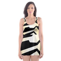 Polynoise Tiger Skater Dress Swimsuit
