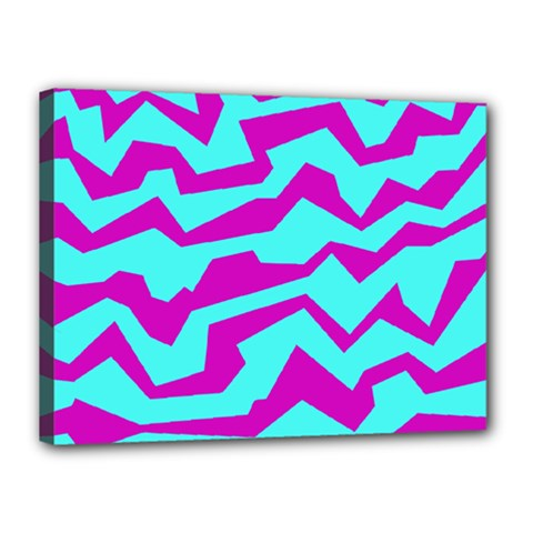 Polynoise Shock New Wave Canvas 16  X 12