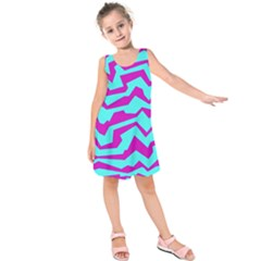 Polynoise Shock New Wave Kids  Sleeveless Dress