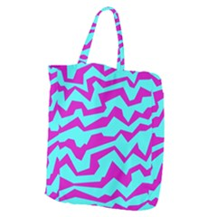 Polynoise Shock New Wave Giant Grocery Zipper Tote