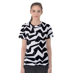 Polynoise Origami Women s Cotton Tee