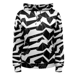Polynoise Origami Women s Pullover Hoodie