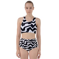 Polynoise Origami Racer Back Bikini Set