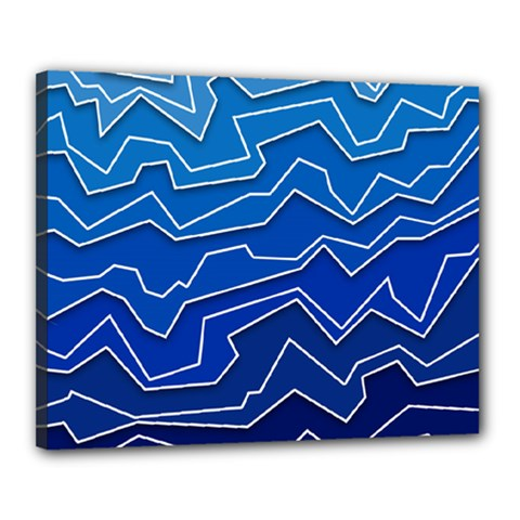 Polynoise Deep Layer Canvas 20  X 16