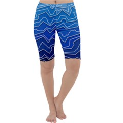 Polynoise Deep Layer Cropped Leggings