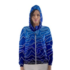 Polynoise Deep Layer Hooded Wind Breaker (women)