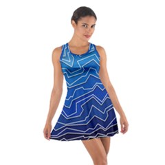 Polynoise Deep Layer Cotton Racerback Dress