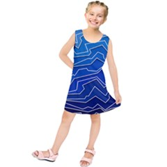 Polynoise Deep Layer Kids  Tunic Dress