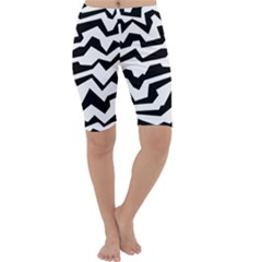 Polynoise Bw Cropped Leggings