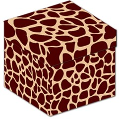 Animal Print Girraf Patterns Storage Stool 12
