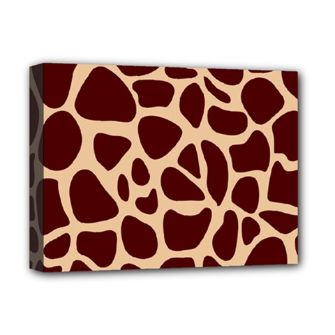 Animal Print Girraf Patterns Deluxe Canvas 16  X 12