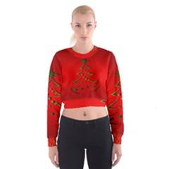 Christmas Cropped Sweatshirt