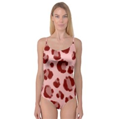 Seamless Tile Background Abstract Camisole Leotard