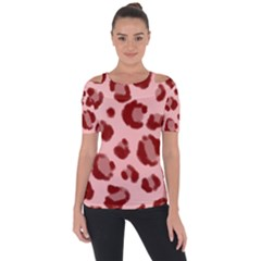 Seamless Tile Background Abstract Short Sleeve Top