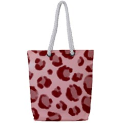 Seamless Tile Background Abstract Full Print Rope Handle Tote (small)