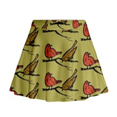 Animal Nature Wild Wildlife Mini Flare Skirt