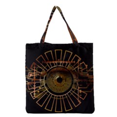 Eye Technology Grocery Tote Bag