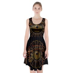 Eye Technology Racerback Midi Dress