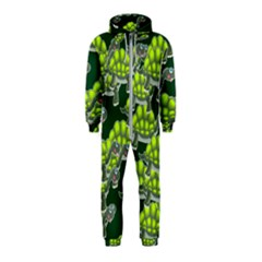 Seamless Tile Background Abstract Hooded Jumpsuit (kids)