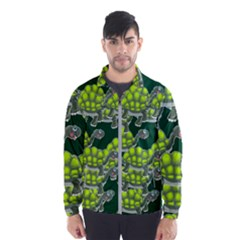 Seamless Tile Background Abstract Wind Breaker (men)