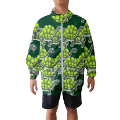 Seamless Tile Background Abstract Wind Breaker (kids)