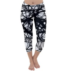 Neurons Brain Cells Brain Structure Capri Winter Leggings