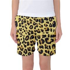 Animal Fur Skin Pattern Form Women s Basketball Shorts