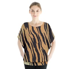 Animal Tiger Seamless Pattern Texture Background Blouse