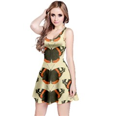 Butterfly Butterflies Insects Reversible Sleeveless Dress