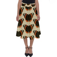 Butterfly Butterflies Insects Perfect Length Midi Skirt