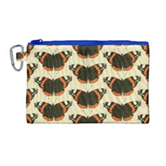 Butterfly Butterflies Insects Canvas Cosmetic Bag (large)