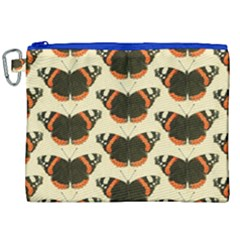 Butterfly Butterflies Insects Canvas Cosmetic Bag (xxl)