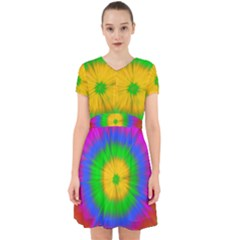 Spot Explosion Star Experiment Adorable In Chiffon Dress
