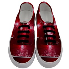 Christmas Candles Christmas Card Men s Classic Low Top Sneakers