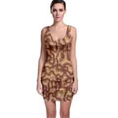 Brain Mass Brain Mass Coils Bodycon Dress
