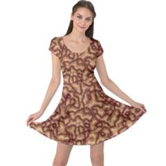 Brain Mass Brain Mass Coils Cap Sleeve Dress