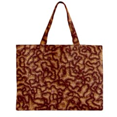 Brain Mass Brain Mass Coils Zipper Medium Tote Bag