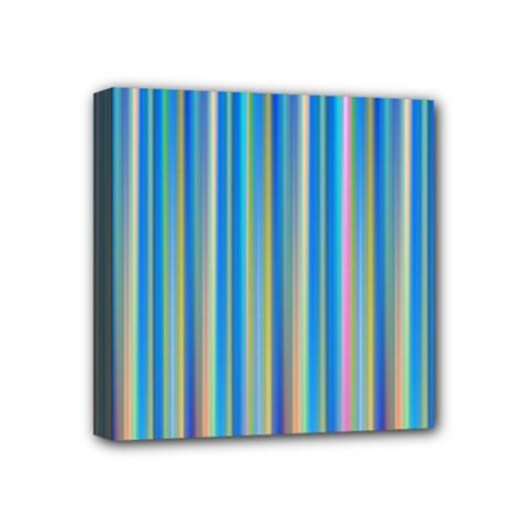 Colorful Color Arrangement Mini Canvas 4  X 4